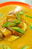 Chinese style fish head curry Stock Photography