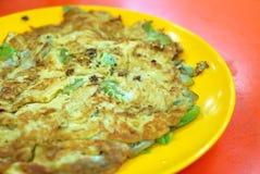 Chinese style fried egg Stock Image