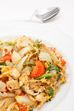 Chinese style fry noodle with vegetables Royalty Free Stock Image