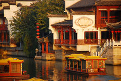 Chinese style garden Royalty Free Stock Image
