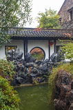 Chinese style garden in autumn Royalty Free Stock Images
