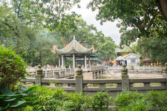 Chinese style garden Royalty Free Stock Images