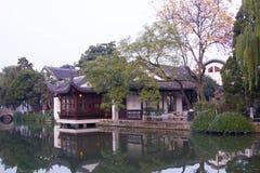 Chinese style garden stock photo