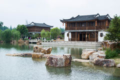 Chinese style garden stock photography