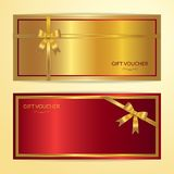 Chinese style gift certificate, voucher, gift card or cash coupo Royalty Free Stock Photos