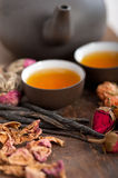 Chinese style herbal floral tea Royalty Free Stock Photos