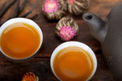 Chinese style herbal floral tea Stock Photo