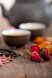 Chinese style herbal floral tea Royalty Free Stock Images