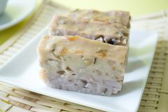Free Chinese Style Homemade Yam Cake Royalty Free Stock Photo - 118909105