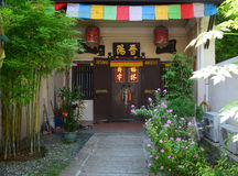 Chinese-style hotel in George Town, Malaysia royalty free stock photography