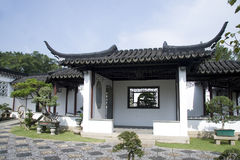 Chinese style house Royalty Free Stock Photo