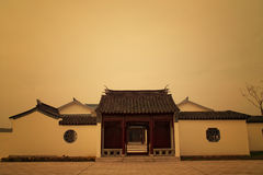 Chinese style house Stock Photos