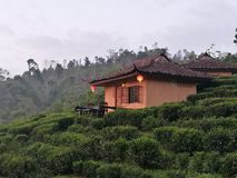 Chinese style house. On the hill for tourist Stock Photo