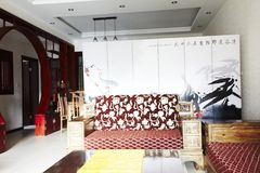 Chinese style interior Royalty Free Stock Image