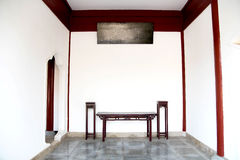Chinese style living room Royalty Free Stock Images