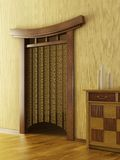 Chinese style lounge room Royalty Free Stock Image