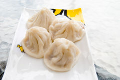 Chinese style meat dumplings Royalty Free Stock Photography