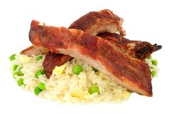 Chinese Style Pork Ribs royalty free stock photography