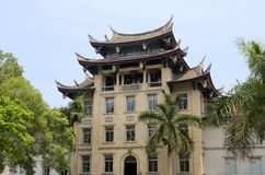 Chinese-style museum Royalty Free Stock Photos