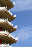Chinese style pagoda Stock Photo