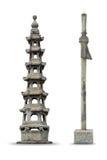 Chinese style pagoda. At bangkok, Thailand Stock Photo