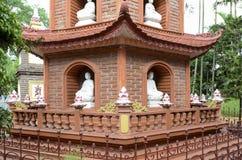 Chinese style pagoda. The public pogoda in vietnam royalty free stock image