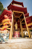 Chinese style pagoda at Tiger Cave Temple. Krabi, Thailand Stock Photography
