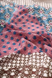 Chinese style pattern made of fabric scarves Stock Photos