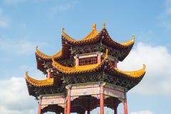 Chinese style pavilion Royalty Free Stock Image