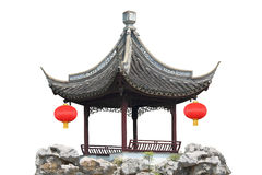 Chinese style pavilion Stock Photography