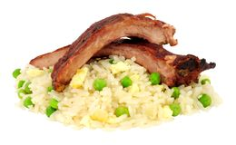 Chinese Style Pork Ribs royalty free stock image