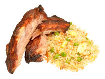 Chinese Style Pork Ribs Royalty Free Stock Photos