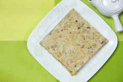 Chinese style pumpkin rice cake Stock Images
