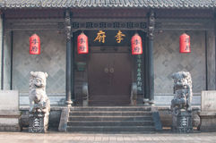 Chinese style Residential building Stock Image