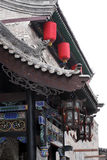 Chinese-style restaurant. In ancient times Royalty Free Stock Photography