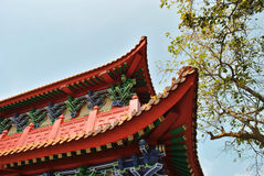 Chinese style roof Royalty Free Stock Photography