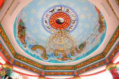 Chinese style roof Stock Images