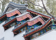 Chinese style roof Royalty Free Stock Image