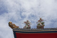 Chinese-style roof Stock Photography