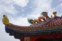 Chinese-style roof Royalty Free Stock Image