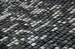 Chinese style roof tiles Stock Photography
