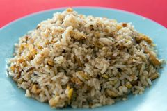 Chinese style stir fried rice Royalty Free Stock Image