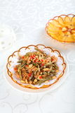 Chinese homely dish Stock Image