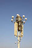 chinese style street lamps Stock Photography