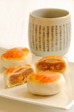 Chinese style teatime stock photo
