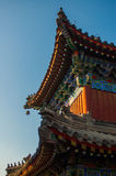 Chinese style temple buliding Stock Images