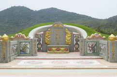 Chinese style tomb Royalty Free Stock Image