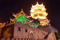 Chinese style tower Stock Images