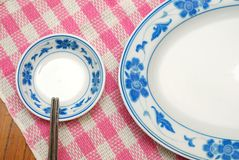 Chinese style utensils Stock Photo