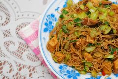 Chinese style vegetarian bee hoon Stock Photography